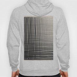 Horizontal & Vertical Lines Hoody