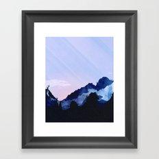 Sunny Rise Framed Art Print