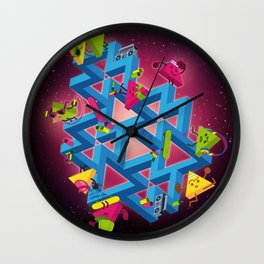 The impossible playground Wall Clock