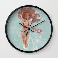 laia Wall Clocks featuring Summer by Laia™