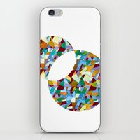 mozart iPhone & iPod Skins featuring Mozart abstraction by Laura Roode
