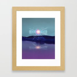 Futuristic Visions 01 Framed Art Print