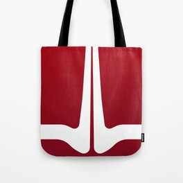 Striped Tomato Tote Bag