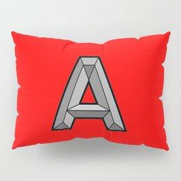 Silver A Pillow Sham
