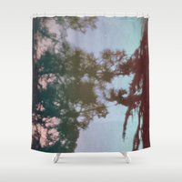 dreams Shower Curtains featuring Dreams by Jane Lacey Smith