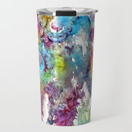 Baby goat in grass Travel Mug
