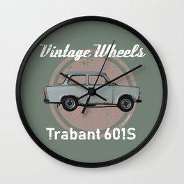 Vintage Wheels - Trabant 601S Wall Clock