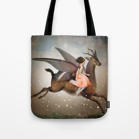 The Night Is Still Young Tote Bag