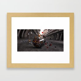 Bowls and Balls Framed Art Print