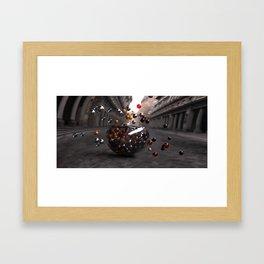 Bowls and Balls Framed Art Print
