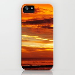 Another Beautiful Costa Rica Sunset iPhone Case