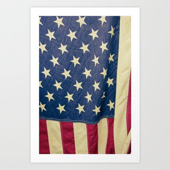 Ye Olde Flag Art Print