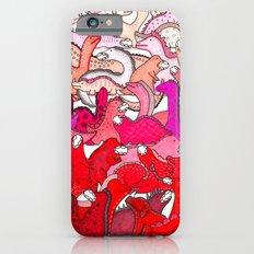 Red Dinosaur Gradient Slim Case iPhone 6s