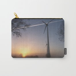 Airlines in Sunrise Carry-All Pouch