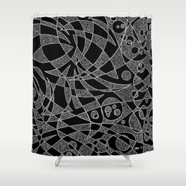 Scattered 2 (Inverted) Shower Curtain