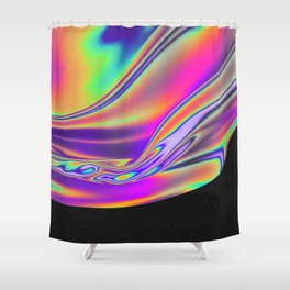 EXCEPTION TO THE RULE Shower Curtain