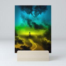 Psychedelic Girl Mini Art Print