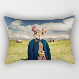 Little Mouse on the Prairie Rectangular Pillow