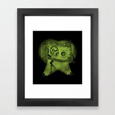 The Real King Framed Art Print