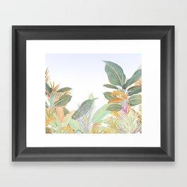 Native Jungle Framed Art Print