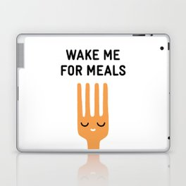 Wake me for meals Laptop & iPad Skin