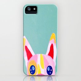 Peek-a-boo Frenchie iPhone Case