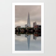 Reflections of the Shard Art Print