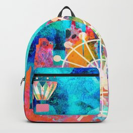 Chicago in the Summer Backpack