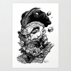 Scooty Scotty Art Print