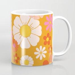 Groovy Mod 60's Flower Power Coffee Mug
