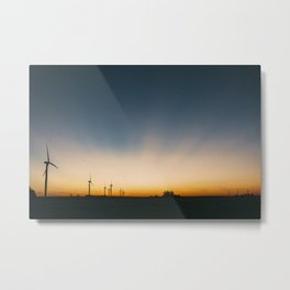Ends of the Earth Metal Print