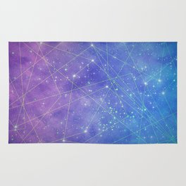 Map of the Stars Rug