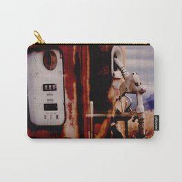 Old Gas Pump Carry-All Pouch