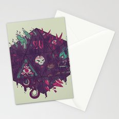 Die of Death Stationery Cards