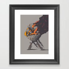 Insanity Framed Art Print