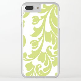 Calyx Damask Clear iPhone Case