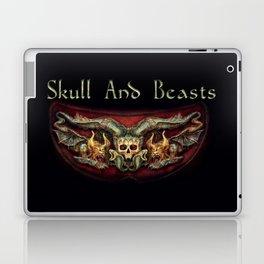 Skull And Beasts 2 Laptop & iPad Skin