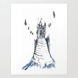 Fantasy Palace Art Print