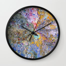Celestial Explosion Wall Clock