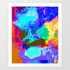 The Colour of Life Art Print