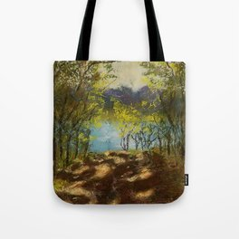 Chickies Rock Overlook Soft Pastel Painting Tote Bag