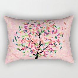 Colorful Tree Rectangular Pillow