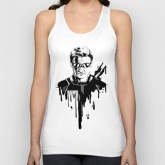 Avengers in Ink: Hawkeye Unisex Tank Top
