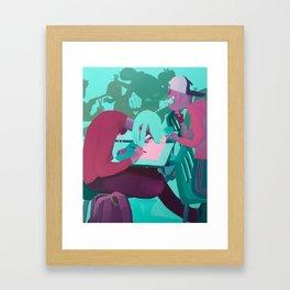 Frustration Station Framed Art Print