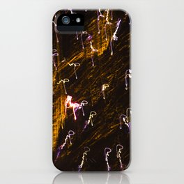Light Show 2 iPhone Case