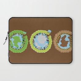 1st World: 2nd World: 3rd World Laptop Sleeve
