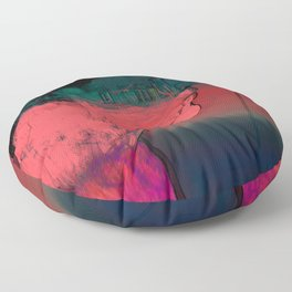 View in the sky Floor Pillow
