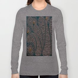 Green and Gold Long Sleeve T-shirt
