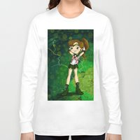 sailor jupiter Long Sleeve T-shirts featuring Sailor Jupiter by Thedustyphoenix