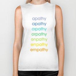 apathy/empathy 2 Biker Tank